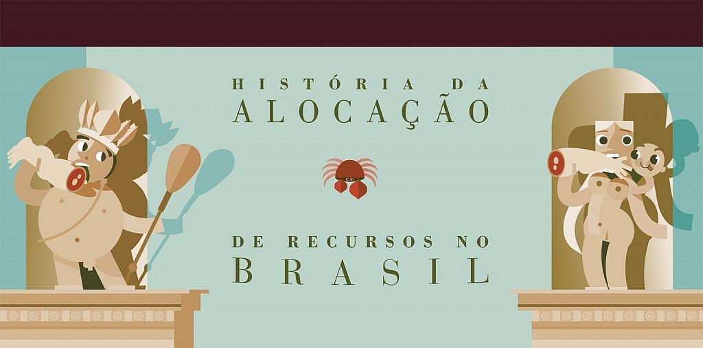 História da alocação de recursos no Brasil